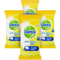 Dettol Power and Fresh Multi-Purpose Citrus Wipes - 320 Wipes