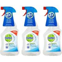 Dettol Surface Cleanser Spray x3