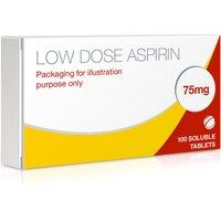 Dispersible Aspirin Tablets 75mg (Low Dose Aspirin)