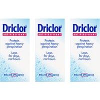 Driclor Solution 20% Triple Pack