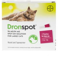 Dronspot Wormer For Large Cat