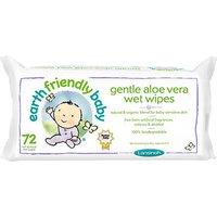 Earth Friendly Baby Gentle Aloe Vera Wet Wipes
