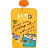 Ella's Kitchen Stage 2 Chicken Casserole and Rice