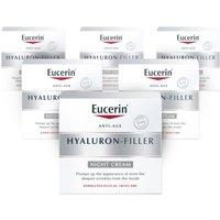 Eucerin Hyaluron Filler Night Cream   6 Pack