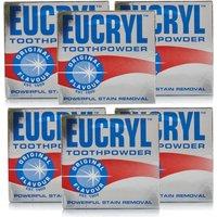 Eucryl Original Toothpowder 6 Pack