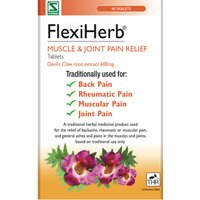 FlexiHerb Muscle and Joint Pain Relief Tablets
