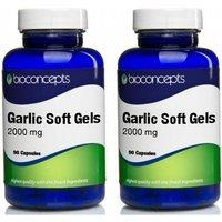 Bioconcepts Odourless Garlic 2000mg - 180 Capsules