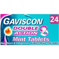 Gaviscon Double Action Tablets 24s