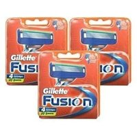 Gillette Fusion Razor Blades - 12 Catridges