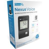Glucorx Nexus Voice Blood Glucose Monitoring System