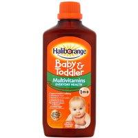 Haliborange Kids Multivitamin Liquid Orange Flavour