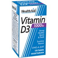 HealthAid Vitamin D3 1000iu