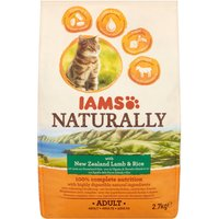 IAMS Naturally Adult Cat Lamb and Rice