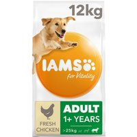 IAMS for Vitality Adult Dog Food Large Breed With Fresh Chicken