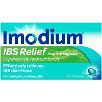 Imodium IBS Relief 2mg Soft Capsules 6s