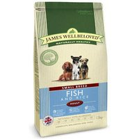 James Wellbeloved Adult Small Breed Kibble Fish and Rice