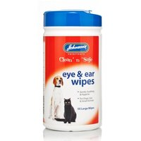 Johnson's Clean'n'safe Eye And Ear Wipes