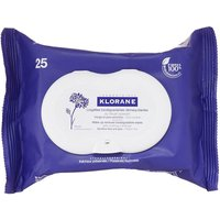 Klorane Biodegradable Soothing Make-up Removal Wipes with Cornflower 25 Wipes