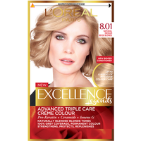 L'Oreal Excellence Blonde Legend 8.01 Natural Medium Beige Blonde Hair Dye