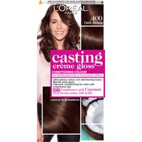LOreal Paris Casting Creme Gloss 400 Dark Brown Hair Dye