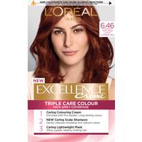 L'Oreal Paris Excellence Creme 6.46 Natural Light Copper Red Hair Dye
