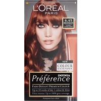 L'Oreal Paris Preference Infinia 6.45 Brooklyn Copper Auburn Hair Dye