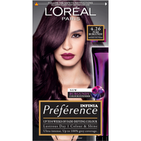 L'Oreal Paris Preference Infinia 4.26 Pure Burgundy Hair Dye