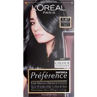 Image of L'Oreal Paris Preference Infinia 1.07 Florence Black Hair Dye