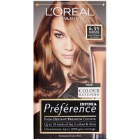 L'Oreal Paris Preference Infinia 6.35 Havana Golden Mahogany Light Brown Hair Dye