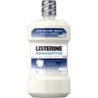 Listerine Advanced White Mouthwash Clean Mint 1 Litre