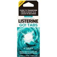 Listerine Go Tabs 16 Tablets