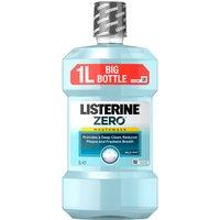 Listerine Zero Mouthwash Mild Mint 1 Litre