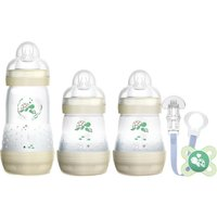 MAM Welcome To The World Anti-Colic Bottle Set- Grey