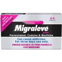 Migraleve Pink 24 Tablets
