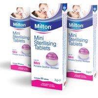 Milton Mini Steriliser Tablets   3 Pack