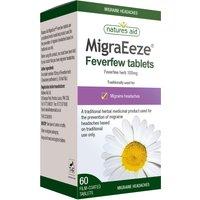 Natures Aid MigraEeze Feverfew 100mg