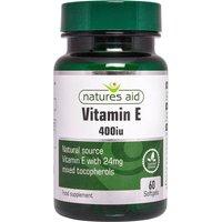 Natures Aid Vitamin E 400iu Natural Form