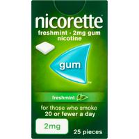 Nicorette 2mg Freshmint Gum