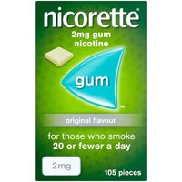 Nicorette 2mg Original Gum - 1050 Pieces