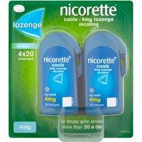 Nicorette Cools Lozenge 4mg 80 Pack