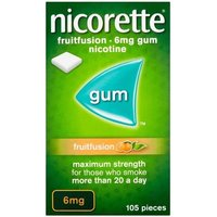 Nicorette Fruit Fusion 6mg 10 Pack (10 x 105's)