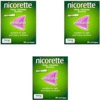 Nicorette Inhalator 15mg - 108 Catridges