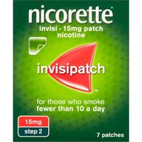 Nicorette Invisi 15mg Patch Step 2