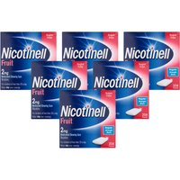 Nicotinell  Gum Aid 2 mg Fruit 204 Pieces- 6 pack