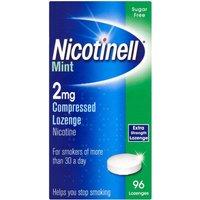 Nicotinell  Lozenge  Aid 2 mg Mint 96 Pieces- 960 Lozenges