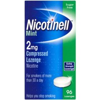 Nicotinell Nicotine Lozenge Stop Smoking Aid 2 mg Mint 96 Pieces- 960 Lozenges