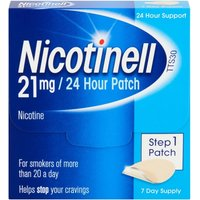 Nicotinell Patch  Aid 21mg24 hour Step 1 x10 7 Patches | x10 Pack