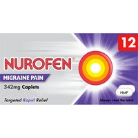 Nurofen 342mg Caplets for Migraine