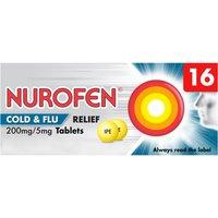 Nurofen Cold   Flu Relief 200mg Tablets