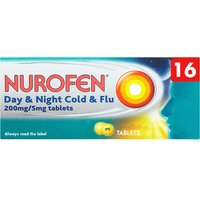 Nurofen Day   Night Cold   Flu 200mg Tablets